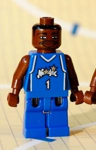 Lego McGrady bringing his game to Orlando, circa 2000