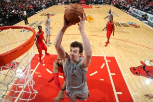 Oh yeah, and Omer Asik beat the hell out of the Bulls on his homecoming, going for 20 points, 18 rebounds, and three blocks. Frowny face.