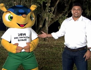 """The mascot will play a key ambassadorial role in the next two years,"" actually uttered by legendary Brasilian footballer Ronaldo (pictured)."